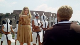 Satire... or premonition? Ursula Andress in The Tenth Victim