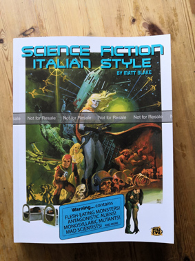Science Fiction, Italian Style - cover