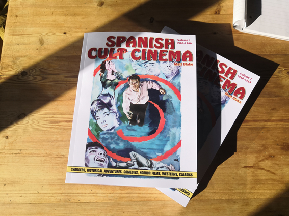 A small pile of Spanish Cult Cinema, Volume 1!