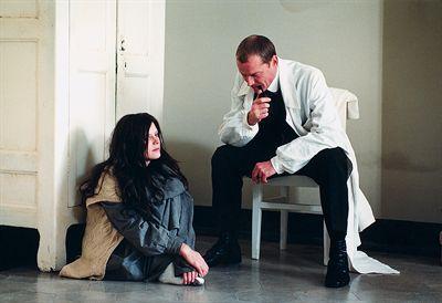 Emilia Fox and Iain Glen in The Soul Keeper