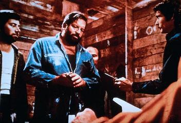 Bud Spencer in Black Turin
