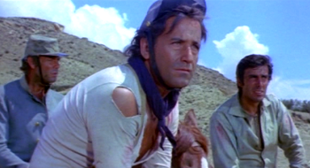 Alberto De Mendoza and George Hilton in A Bullet for Sandoval