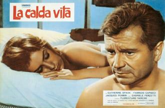 Catherine Spaak & Gabriele Ferzetti in La calda vita