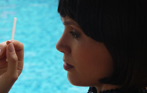 Eleonora Albrecht in Caribbean Basterds