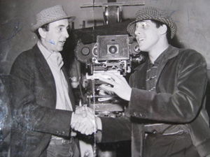 Piero Vivarelli and Adriano Celentano