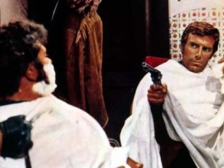 A close shave for George Hilton in Dead for a Dollar