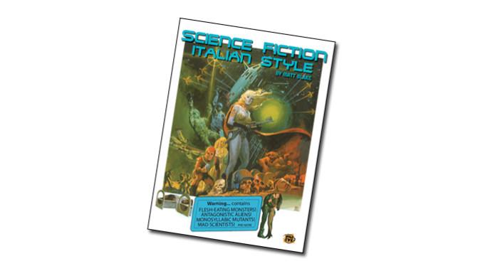 Science Fiction, Italian Style - The new book from The WildEye Press