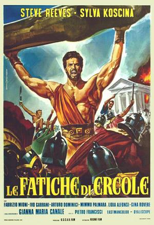 Le fatiche di Ercole poster