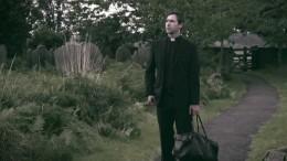 Andrew Squires walks his manor in Heretic
