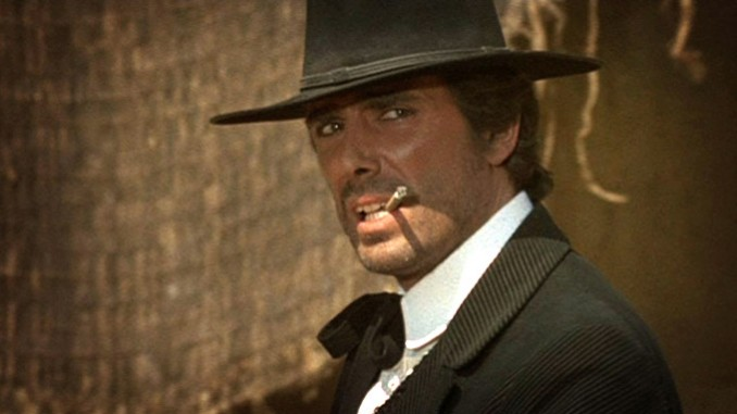 George Hilton in Sartana's Here... Trade Your Pistols for a Coffin