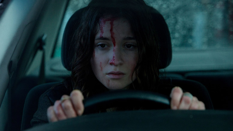 Alice Englert begins to feel In Fear