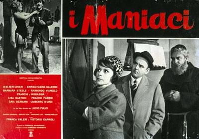 Italian fotobusta for I maniaci
