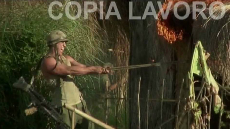 A film that proves the Italians can still make the most garish of exploitation films, MY LAI FOUR