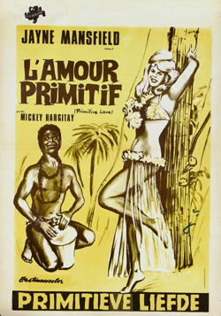 Belgian poster for Primitive Love