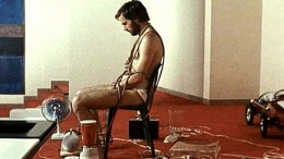 Franco Nero is all tied up in A Quiet Place in the Country