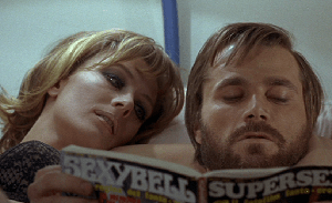 Vanessa Redgrave and Franco Nero in A Quiet Place in the Country