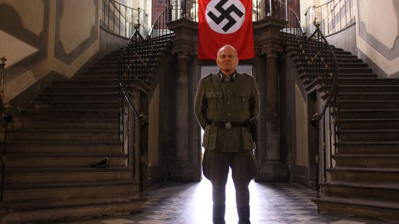 Perennial bad guy Dan Van Husen in Reich of the Dead