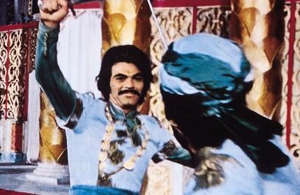 Robert Malcolm in Simbad e il califfo di Bagdad