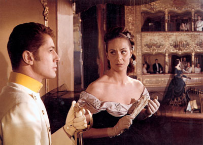 Farley Granger and Alida Valli in Senso