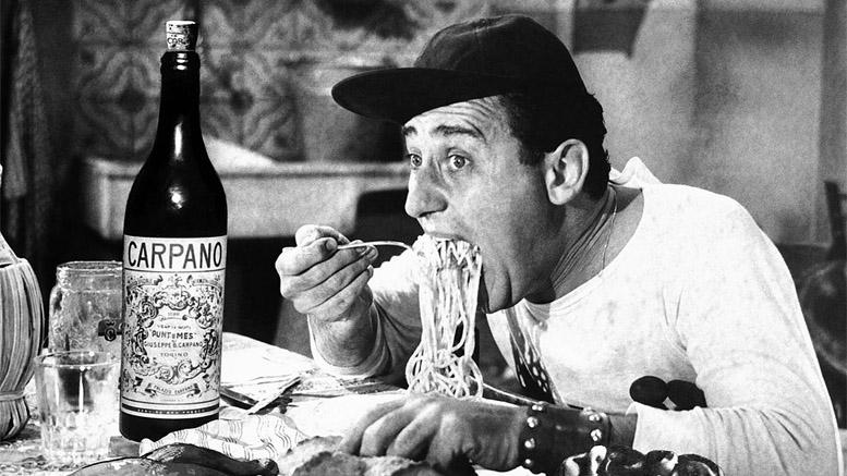 Alberto Sordi in Steno's Un americano a Roma