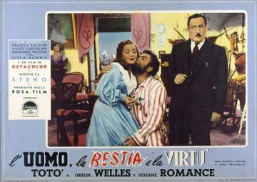 L'uomo, la bestia e la virtu, directed by Steno