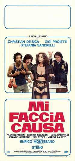 Mi faccia causa, a late period Steno film