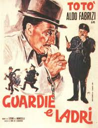 Guardia e ladri, with Alberto Sordi